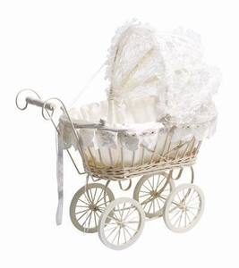 Poppenwagen Lace